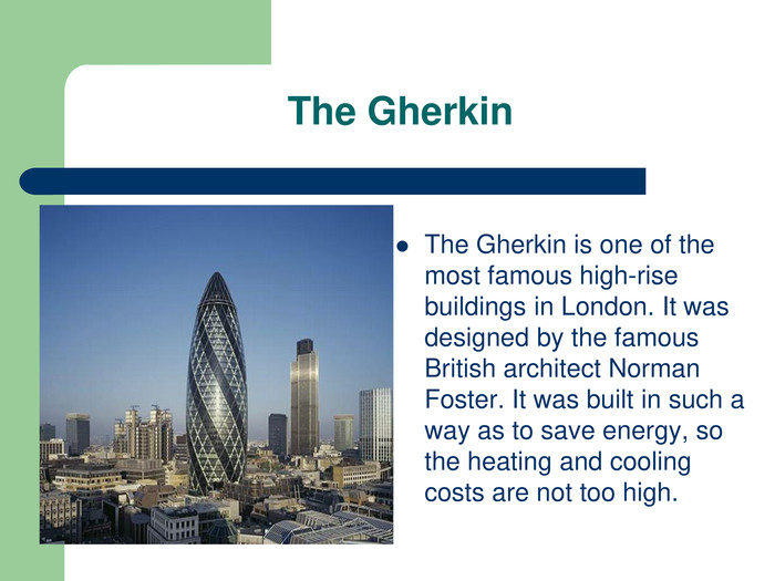 The Gherkin 