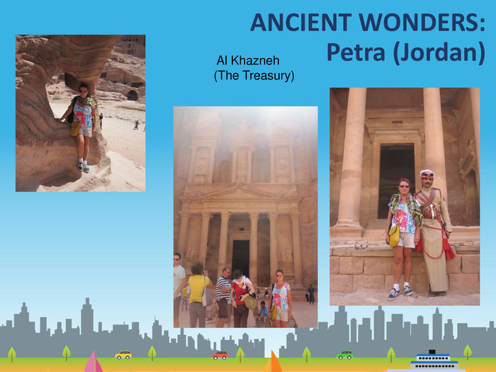 ANCIENT WONDERS: Petra (Jordan) Al Khazneh (The Treasury)
