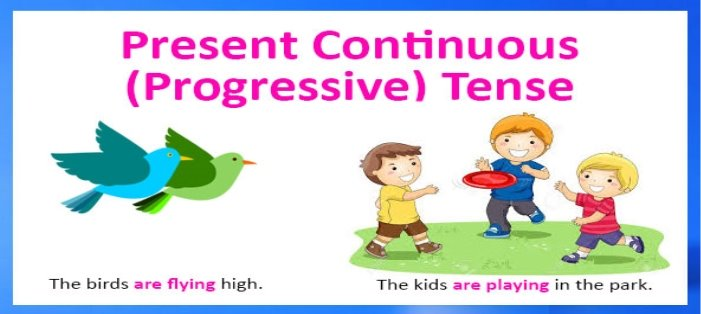 English with pleasure : Present Continuous Tense