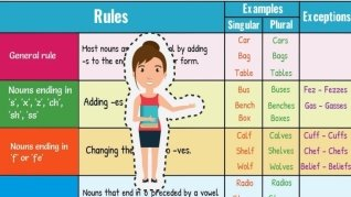 Singular and Plural Nouns: How to Form Regular Plural Nouns in ...
